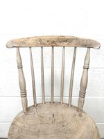 Pair of Rustic Antique Penny Chairs (6 of 9)