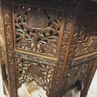 Carved Eastern Games Table (7 of 18)