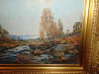 Oil Painting Arran by Archibald Kay. Dated 1927 (6 of 7)