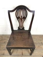 Set of Four Welsh Oak Farmhouse Chairs (6 of 10)