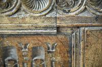 Charles I Oak Panel Chest (5 of 10)