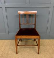 Set of 8 Georgian Mahogany Dining Chairs (16 of 16)
