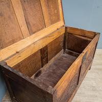 17th Century Oak & Elm Coffer (6 of 10)