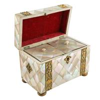 Mother of Pearl Tea Caddy (3 of 8)