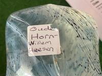 Decorative Art Glass Oude Horn Willem Heesen Signed Pillow Paperweight (5 of 27)
