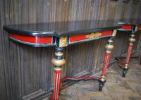 Painted French Console Tables (5 of 7)