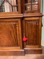 Late Victorian Mahogany 4 Door Library Bookcase (13 of 13)