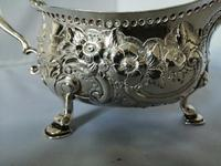 Large and impressive Georgian Silver Sauce Boat / Gravy Boat (7 of 7)