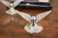 Unusual Pair of Winged Silver Knife Rests (4 of 5)