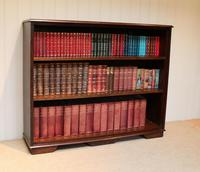 Large Oak Open Bookcase (3 of 9)