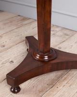 Mahogany Pedestal Lamp Table (4 of 5)