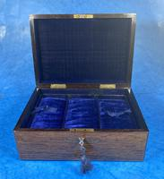 Victorian Rosewood Jewellery Box with Inlay (2 of 14)