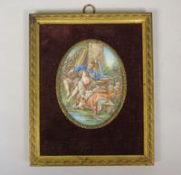 Beautiful Miniature Painting after Boucher Courting Couple (2 of 5)