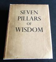 1937 Seven Pillars of Wisdom by T E Lawrence  with Original Dust Jacket (3 of 5)