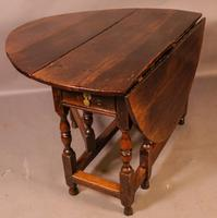 17th Century Gateleg Dining Table c.1680 (6 of 13)