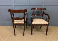 Excellent Pair of Regency Mahogany Scroll Armchairs (7 of 17)