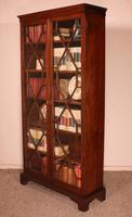 Georgian Glassed Bookcase in Mahogany & Inlays - 18th Century English (9 of 14)