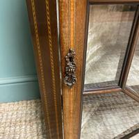 Victorian Mahogany Antique Glazed Corner Display Cabinet (3 of 6)
