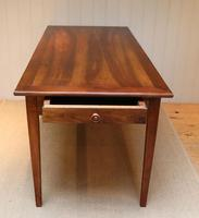Small Proportioned French Cherry Wood Farmhouse Table (2 of 10)