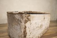 19th Century Rustic Painted Country House Trunk - Coffee Table (3 of 16)