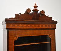 Antique Georgian Period Inlaid Mahogany Miniature Bookcase (5 of 12)