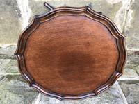 Antique Mahogany Tripod Wine Table (6 of 6)