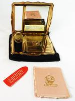 Vintage Stratton Lipstick Holder & Compact Mirror 1950s (5 of 9)