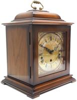 Incredible Sold Mahogany Mantel Clock Westminster Chime Triple Musical Bracket Clock by St James London (3 of 11)