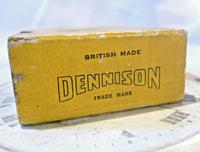 Antique Dennison Pocket Watch Box 1930s Original Presentation Protective Box (11 of 12)