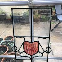 Antique Stained Glass Panel (8 of 12)