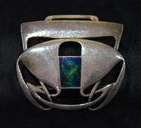 Archibald Knox Liberty & Co Cymric Silver Belt Buckle (4 of 7)