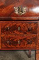 Beautiful Large Flame Mahogany Cylinder Desk (17 of 30)