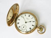 Antique Waltham Traveler Full Hunter Pocket Watch, 1916 (2 of 6)