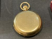 18ct Full Hunter Pocket Watch by Rotherham's of London (6 of 12)