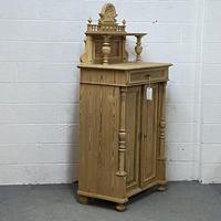 Decorative Antique Pine Night Cupboard (4 of 6)