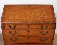 Georgian Oak Writing Bureau Cabinet (3 of 12)