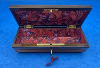French Mahogany Glove Box with Boxwood, Ebony & Fruitwood Stripes (10 of 12)