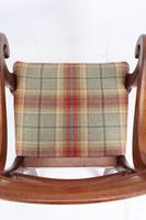 Victorian Mahogany Desk Chair / Open Armchair (6 of 13)