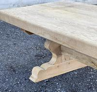 Huge French Bleached Oak Farmhouse Dining Table (24 of 34)