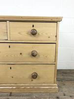 Small Victorian Antique Pine Chest of Drawers (9 of 15)