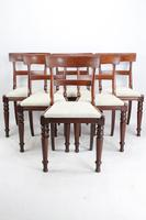 Set of 6 Victorian Mahogany Dining Chairs (2 of 13)