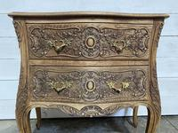 Stylish French Bleached Oak Commode Chest (10 of 20)