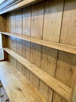 Large Antique Pine Dresser (6 of 16)