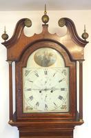 Fine English Longcase Clock Prince Hunslett 8-day Striking Grandfather Clock Solid Mahogany & Oak Case (8 of 14)