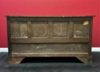 Beautiful 18th Century Georgian Period English Country Oak Mule Chest Sideboard Cabinet (8 of 19)