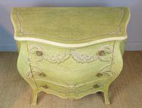 Vintage Italian Painted Bombe Commodes Harrods (4 of 10)
