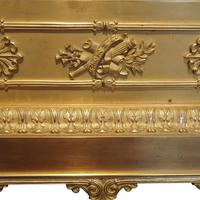 Large French Empire Gilt Clock by Deniere et Fils (10 of 11)
