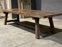 Huge Rustic French Oak Farmhouse Dining Table (26 of 35)