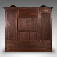 Large Fine Antique Wardrobe Compactum, English, Walnut, Gillow & Co, Victorian (6 of 12)