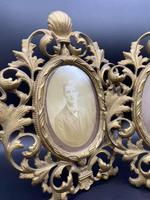 Pair of Large Victorian Gilt Picture Frames